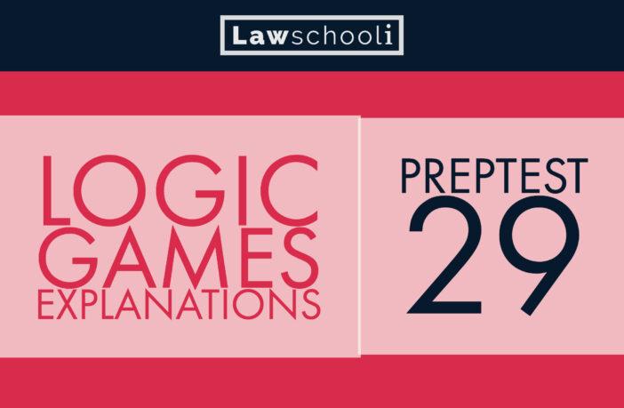 Lsat Preptest 29 Logic Games Video Explanations Lawschooli